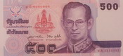 Commemorative banknote on the occasion of golden jubilee celebration ธนบัตรที่ระลึกฉลองสิริราชสมบัติ ๕๐ ปี