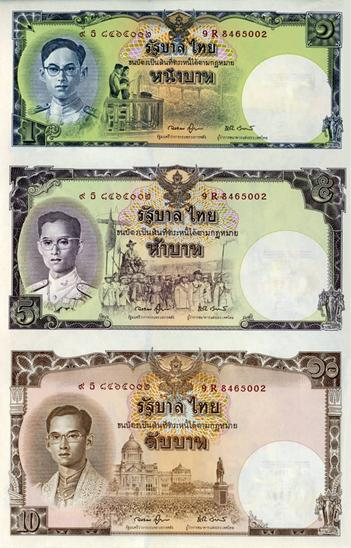 Commemorative banknote of HM. King Rama 9's 80th  Birthday Anniversary front